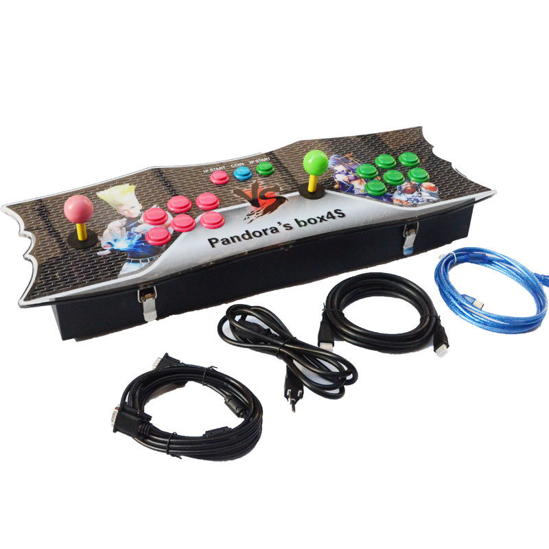 Commercial Arcade Game Station Console Pandora'S Box 4 Joystick Game Console