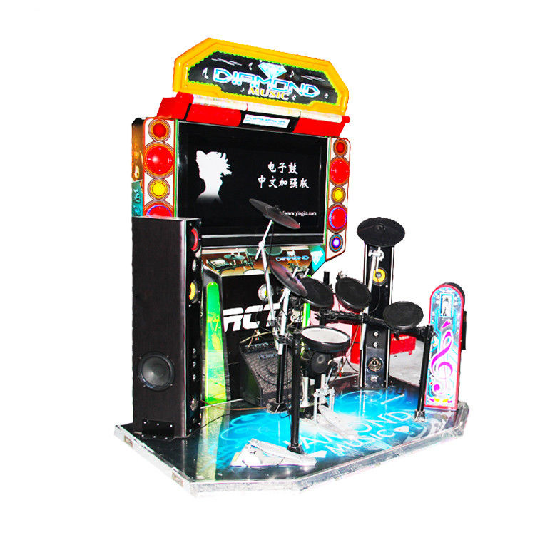 Jazz Drum Arcade Game Machine 32 inch Coin Operated Music Game Machine For Kids