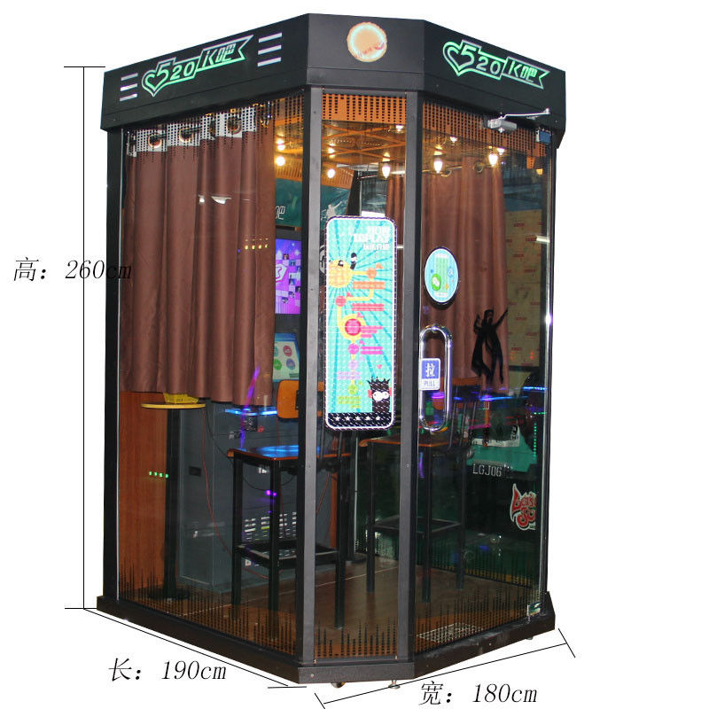 Jukebox Machine K-Bar Simulator Arcade Music Singing Game Machine Coin Operated Electronic Karaoke Machine