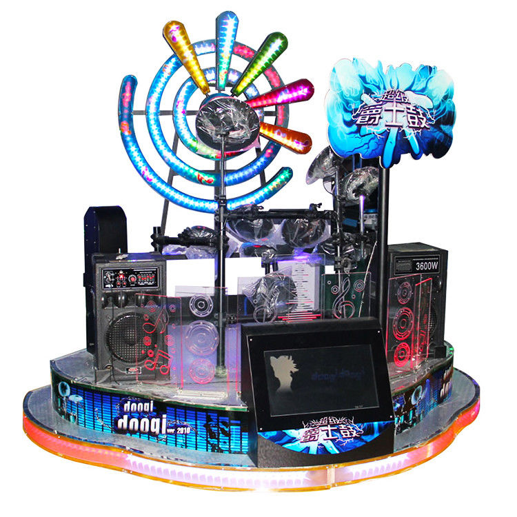 Coin Operated Electronic Music Jazz Drum Arcade Drum Game Machine