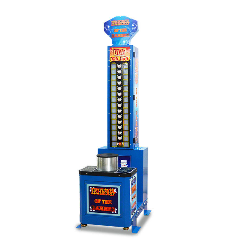 Commercial Arcade Games Machines / 200W Hammer Hitting Machine 1 Player