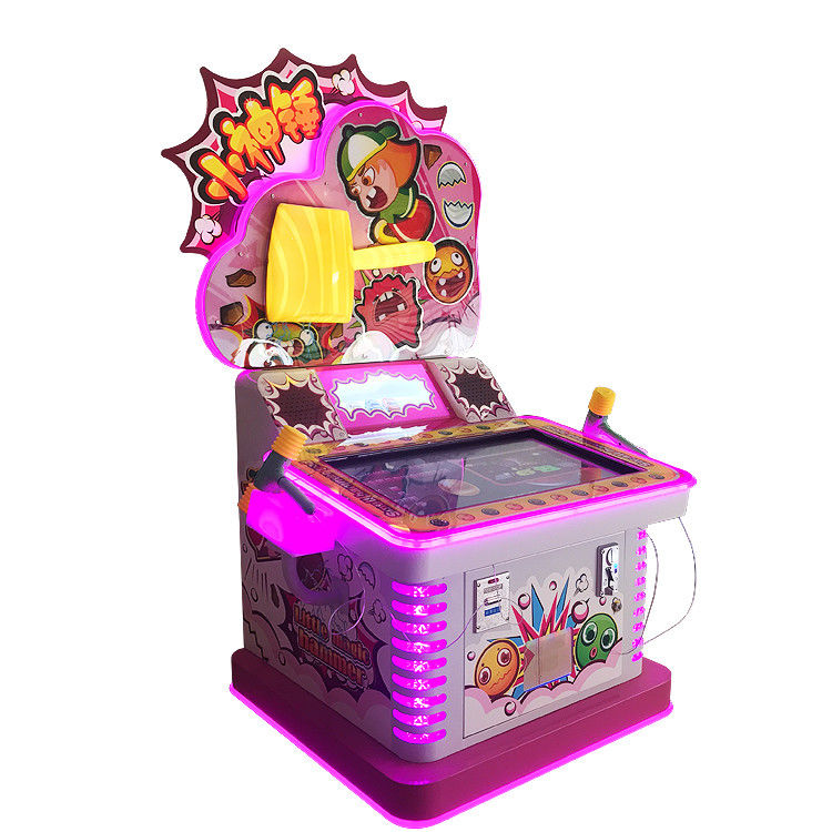 Coin Operated  Kids Game Machine Ticket Redemption Hammer Arcade Game Machine